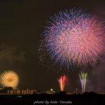 松戸・市川・手賀沼の花火大会(16/8/6)