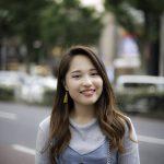 街角モデル(スナップ撮影17/8/22)