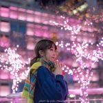 ポートレート撮影 新宿夜景(17/12/5)