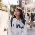 街角モデル(スナップ撮影18/2/18)